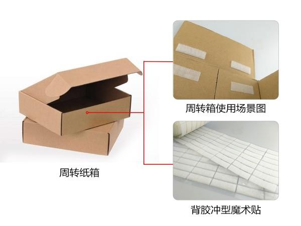 盛煌娱乐粘扣为彩盒行业提供背胶魔术贴解决方案